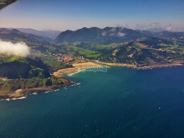 Basque Country's coastal views