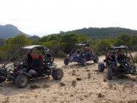 Ruta guiada en buggy por Valle de Ricote y picnic