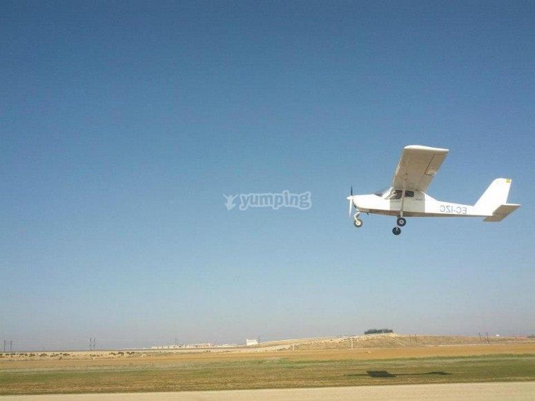 在Algodor飞机上进行一日飞行