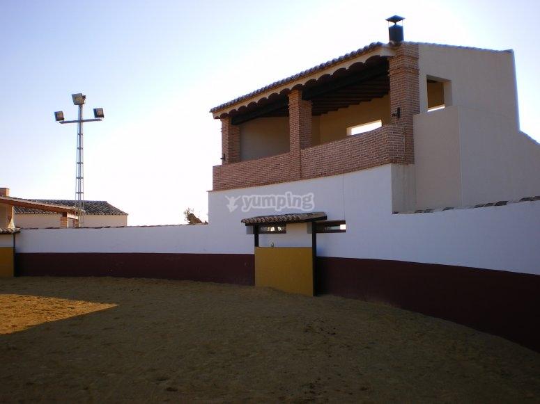 Panorámica de la plaza de toros