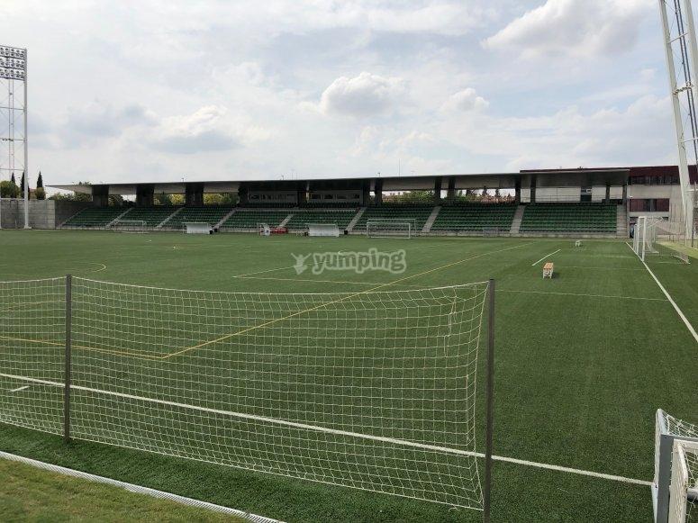 Campo selección Española
