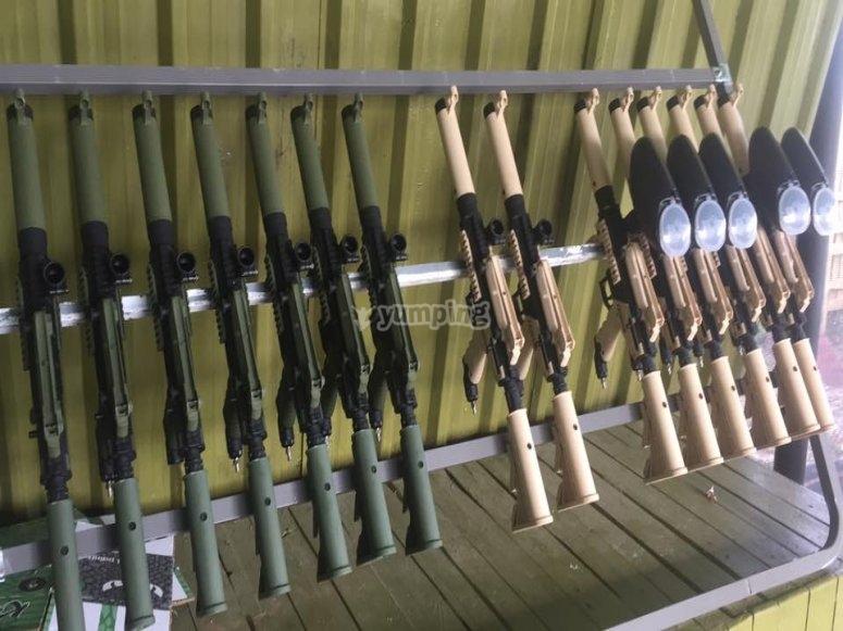 Réplicas de armas reales