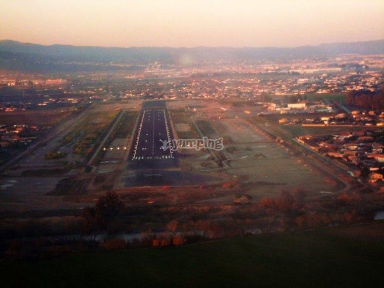 Volo aereo in Córdoba