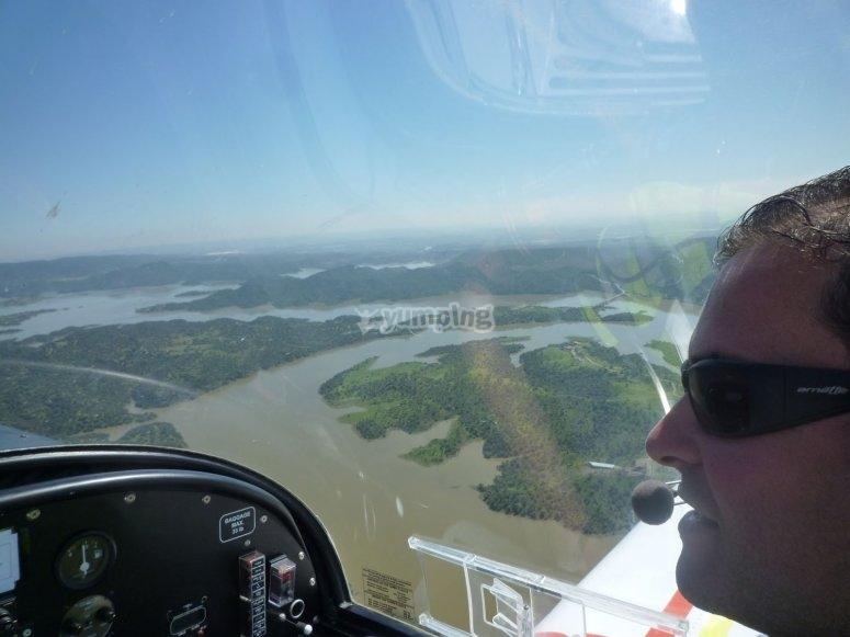 Vola in aereo per la prima volta Córdoba