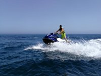 Sobre la moto de agua en Fuengirola
