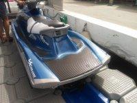 Remolcando la moto de agua