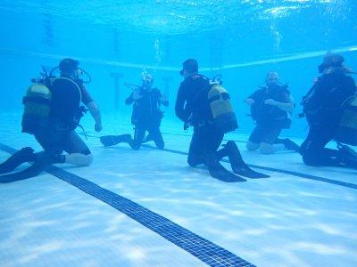 Curso de aleteo en piscina Valdemoro 3 horas