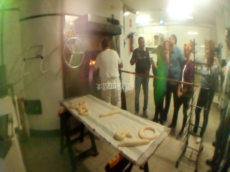 Bread workshop in the workshop