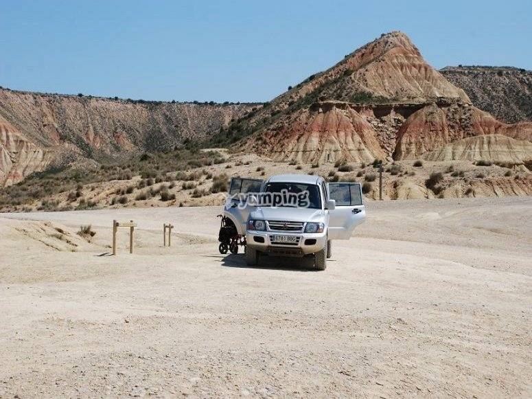 Start your 4x4 route through the Queiles River Valley