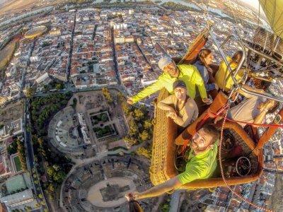Paseo en globo adultos por Mérida capital 1hora