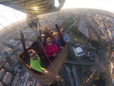 Excursión en globo niños por Mérida capital 1 hora