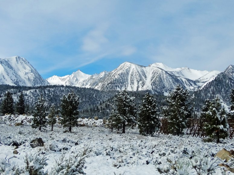 Sierr Nevada, ready for a day of winter sports
