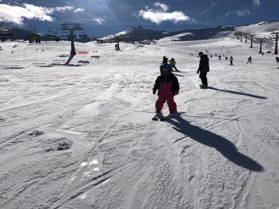 Skiing course in Sierra Nevada 6 hours