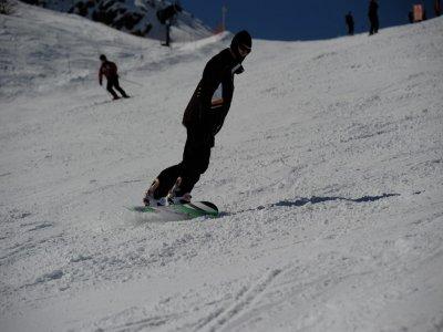 Lección privada de snowboard en Sierra Nevada 6h