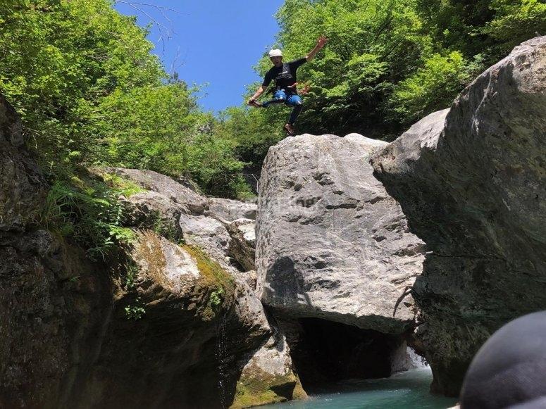 Descenso barranco Río Verde