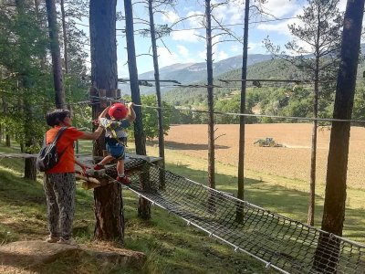 Multiadventure circuit El Ripollés 3 to 6 years
