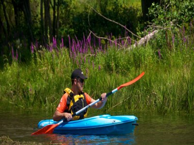 Noleggio kayak singolo Lago La Torrassa 30min