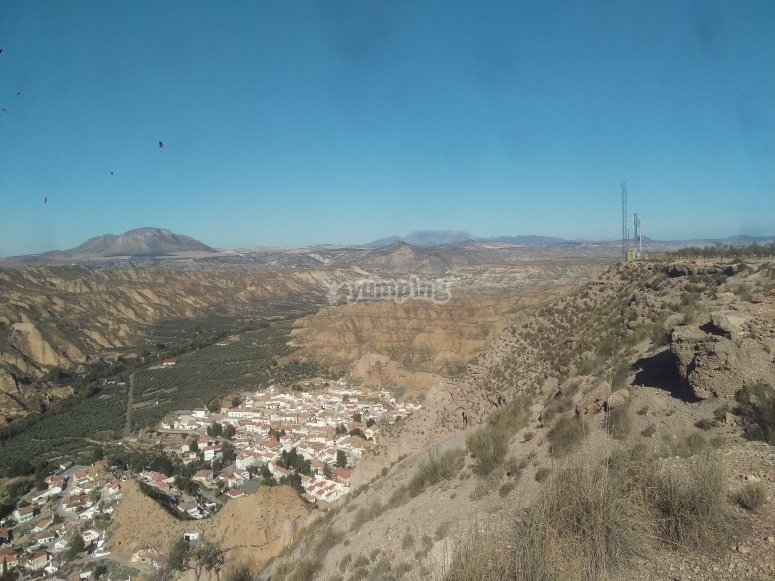 Gorafe desde el cañón