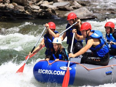 Rafting from Llavorí to Rialp for 2 hours