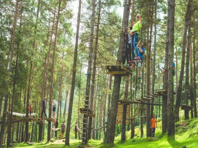Multi-adventure park El Ripollés 6 to 10 years old