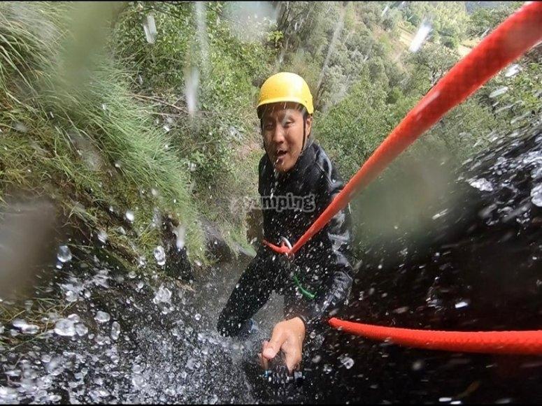 在Torrassa降水