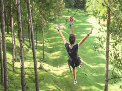 Multi-adventure park in El Ripollés since 9 years