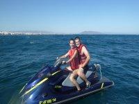 Jet ski tour in Playa de Los Muertos