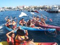 Alquiler de piraguas de mar en Puerto Colón,2 h