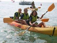 Aprende a navegar en Kayak en Roquetas
