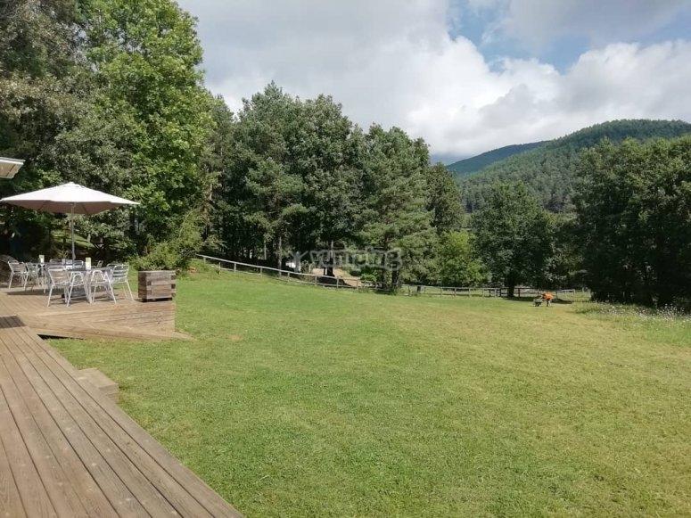 Zona de descanso en el Pirineo Catalán