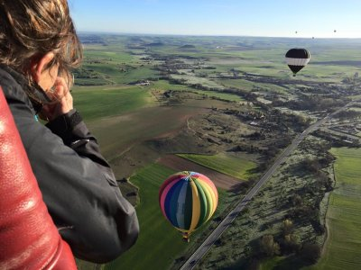 Balloon flight and snack Riberas de Castronuño