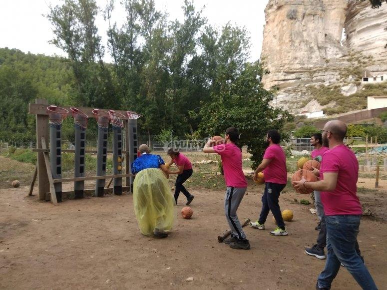 Jornada de canasta en Alcalá del Júcar