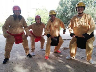 Gymkana单身派对AlcaládelJúcar2h