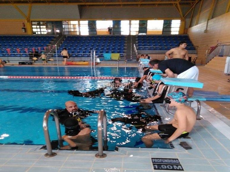 马德里入门潜水课程
