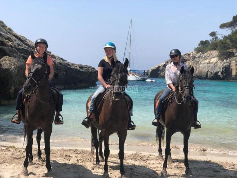Las vistas de Menorca a caballo