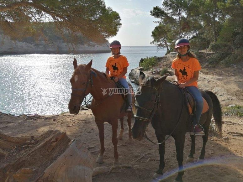 Tour Cala Mitjana by horse