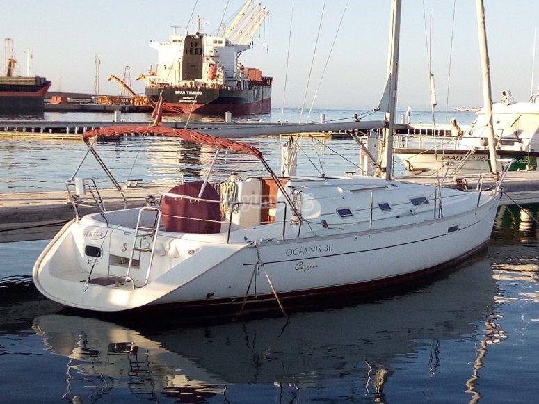Sailboat ride from Garrucha