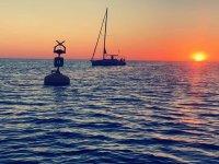 Paseo y cena romántica en velero desde Garrucha