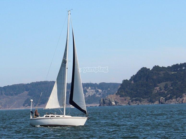 Impara a prendere una barca per Candela Garrucha