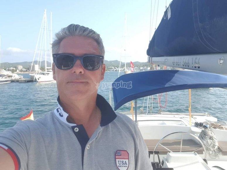Futuro skipper di yacht a Garrucha