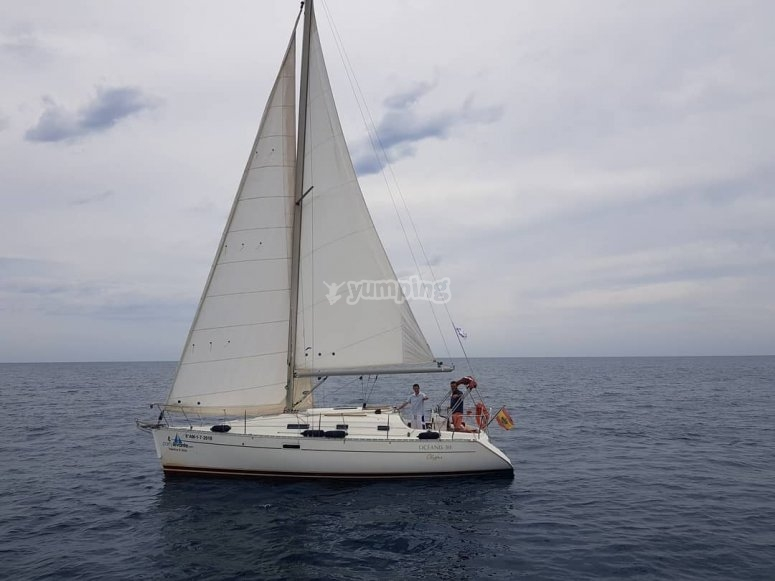 Titolo in barca a vela in Garrucha