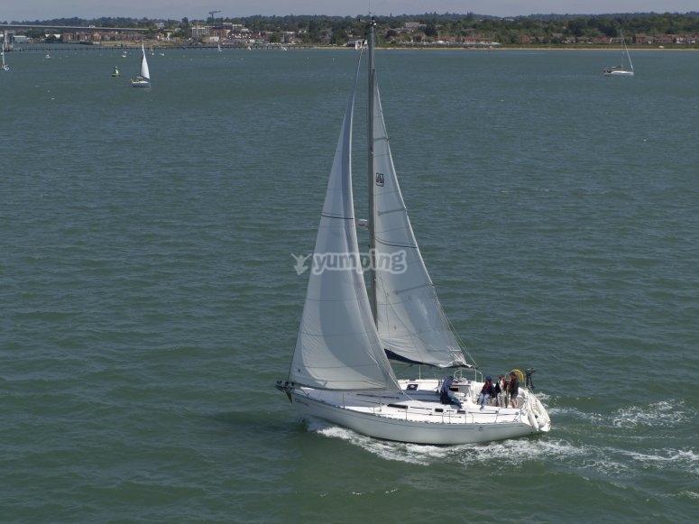 Modello di barca da diporto in Garrucha