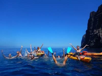 Stag/Hen Do kayak and paddle surf Los Gigantes