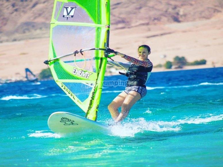 Windsurf a Playa de Mil Palmeras