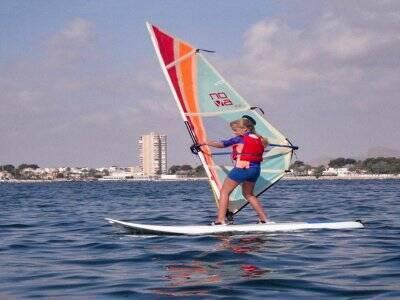 风帆冲浪课在米尔帕尔梅拉斯海滩2小时