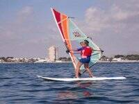 Windsurf for children from 8 years