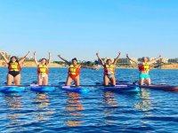 Lezione di paddle surf Mil Palmeras Beach 1.5 h