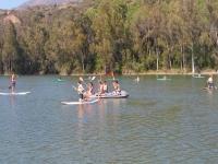 Jornada de deportes acuáticos en el Lago de Las Tortugas
