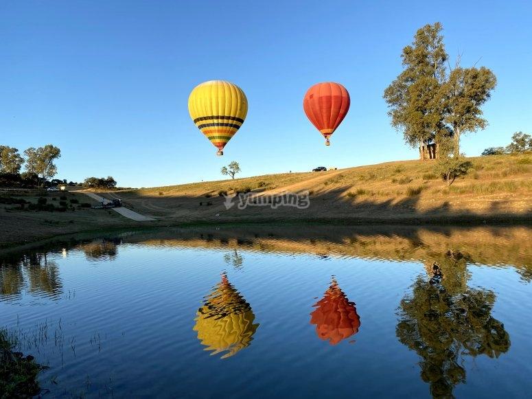 穿越瓜迪亚马尔气球之旅