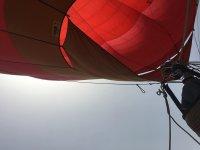 Volando en globo sobre Doñana